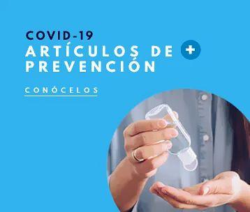 Artículos promocionales prevención Covid 19